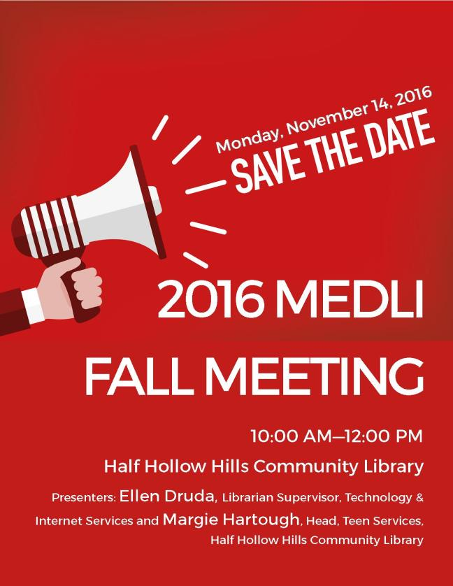 MEDLI Fall Meeting 2016